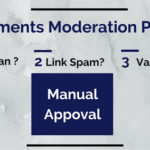 Blog Comment Moderation